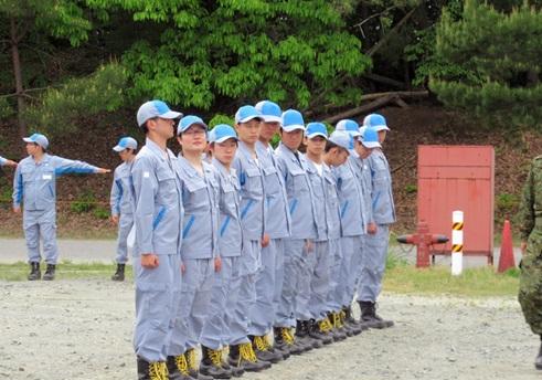 自衛隊体験入隊1